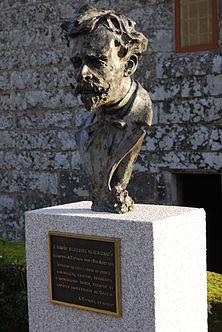 Ramon Verea.Busto en A Estrada