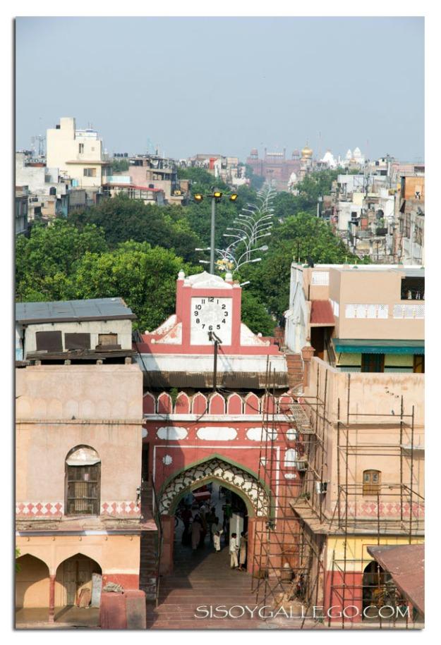 Delhi a vista de pájaro
