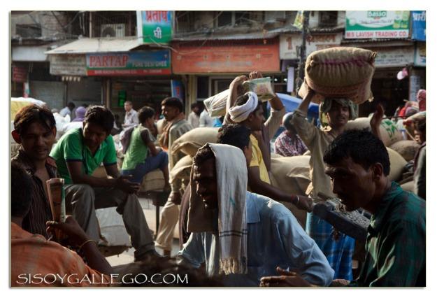 El mercado a pie de calle.