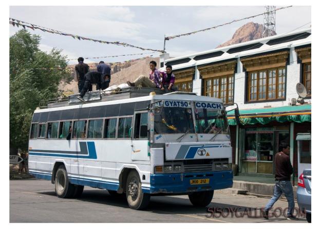 Si los autobuses están abarrotados, opción segundo piso