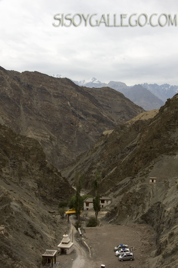 Vistas desde el Monasterio de Rizong