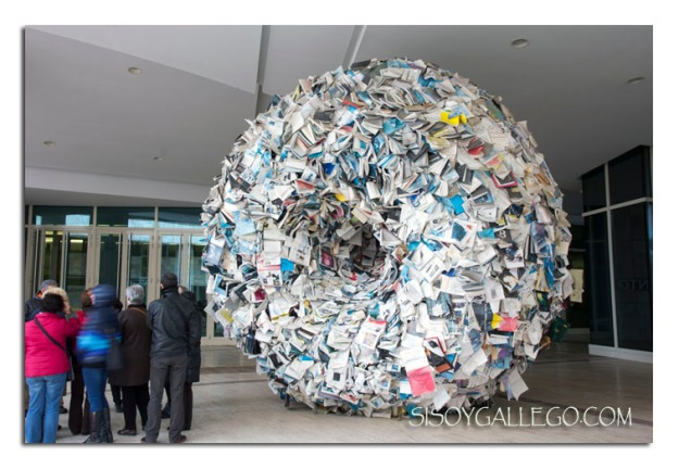 Singularidad es el nombre de esta escultura