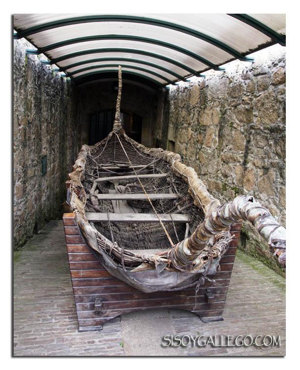 embarcacion mimbre y cuero, embarcacion celta, Breogan, Si soy gallego