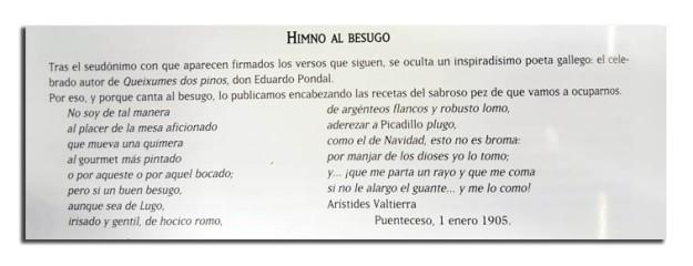 Himno al Besugo