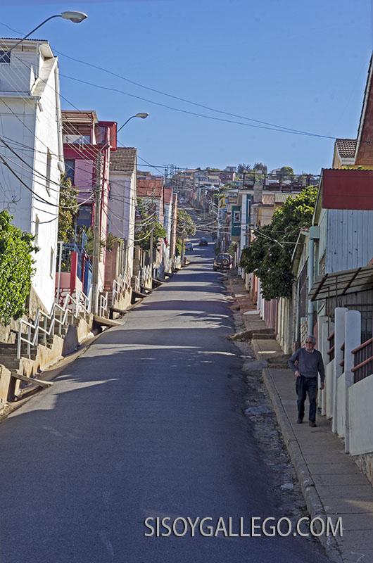 11.Valparaiso. Casas que suben hasta el cielo.