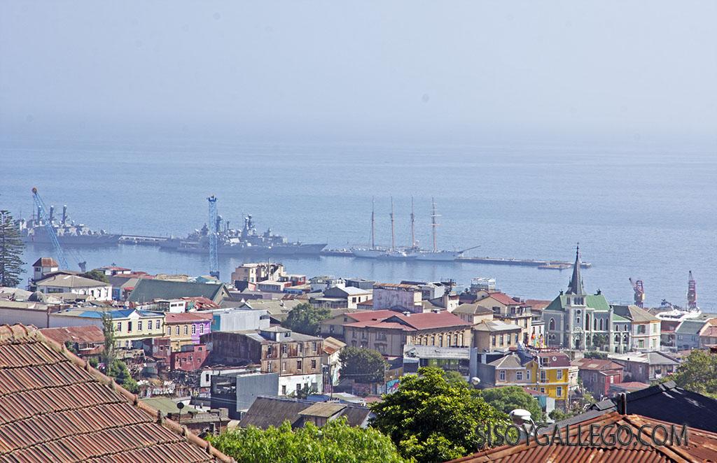 12.Puerto de Valparaiso.