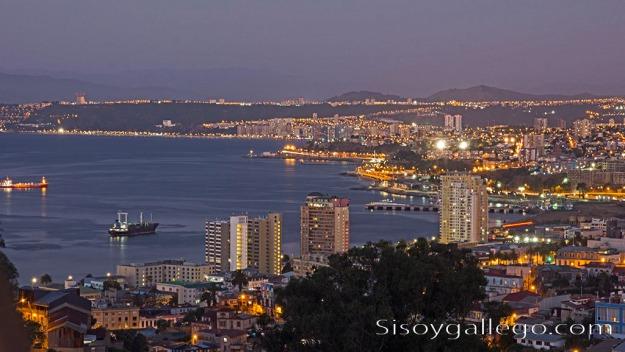 15.Valparaiso atardecer.