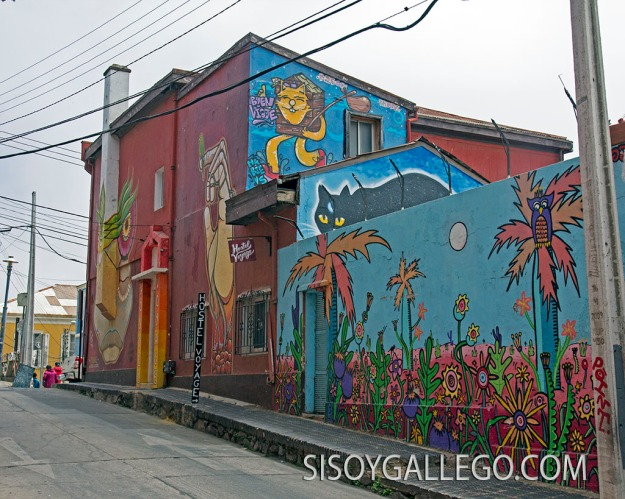 16.Valparaiso. Miles de murales.